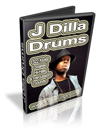 Product picture J Dilla Drums and Samples Kit