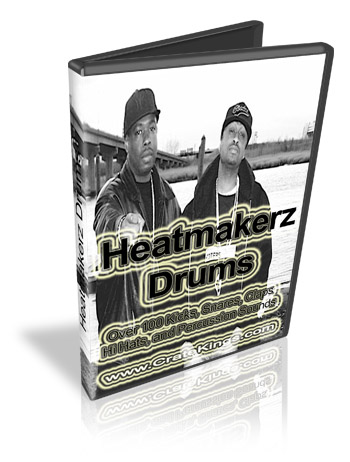 Product picture Heatmakerz Drums and Samples Kit
