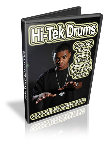 Product picture Hi -Tek Drums and Samples Kit
