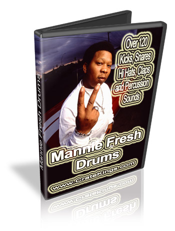 Product picture Mannie Fresh Drums and Samples Kit